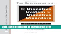 [Popular] The Encyclopedia of the Digestive System and Digestive Disorders (Facts on File Library