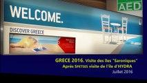 GRECE 2016. Part 24. L'île d'HYDRA  (l'île aux ânes)  (HD 1080p60)