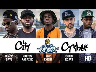 DJBooth City Cypher (ft. Emilio Rojas, Maffew Ragazino, Black Dave, HD & Kirk Knight)
