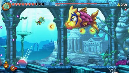 The Power of Six!  de Monster Boy and the Cursed Kingdom