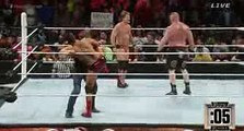 Wwe Raw 18 July 2016 The Wyatt Family Return on Royal Rumble 2016 attack Brock Lesnar full HD