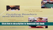 [Download] Guiding Readers and Writers (Grades 3-6): Teaching, Comprehension, Genre, and Content