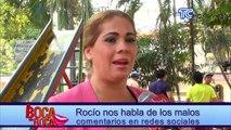 Rocío nos habla de los malos comentarios en redes sociales