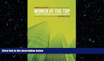 FREE DOWNLOAD  Financial Services: Women at the Top: A WIFS Research Study  DOWNLOAD ONLINE