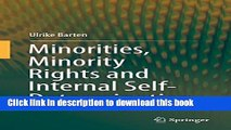 [Download] Minorities, Minority Rights and Internal Self-Determination Paperback Free
