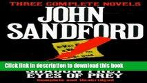 [PDF] Three Complete Novels: Rules of Prey / Shadow Prey / Eyes of Prey Full Online