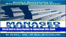 [Download] Managed Services in a Month - 2nd ed. Hardcover Online