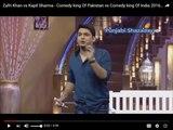 Zafri Khan vs Kapil Sharma - Comedy king Of Pakistan vs Comedy king Of India 2016 HD - Must Watch