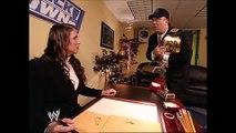 Stephanie McMahon & Paul Heyman Backstage SmackDown 11.21.2002 (HD)