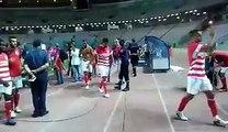 club africain esperance de tunis EST DERBY لحظة خروج لاعبين النادي الافريقي بعد نهاية المباراة