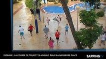 Espagne : Des touristes envahissent une piscine en quelques secondes ! (Vidéo)