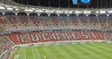 Steaua Bükreş Taraftarı, Yanlışlıkla Ezeli Rakiplerinin Pankartını Açtı