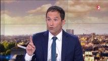 """Benoît Hamon tacle François Hollande : """"Pourquoi s'être mis dans les pas de Nicolas Sarkozy ?"""""""