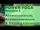 Power Yoga Sequence | Adamukaveerasan, Adamukashwanasan & Urdhmukashvanasan