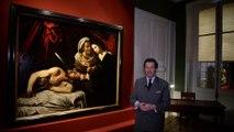 La découverte d'un tableau de CARAVAGE, Judith et Holopherne