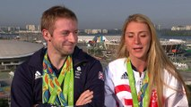 Laura Trott 'can't deal' with it when Jason Kenny competes