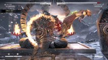 Mortal Kombat XL SCORPION SHIRAI RYU FIRE BRUTALITY
