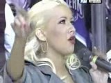 Christina Aguilera - Star Spangled Banner @ Hockey Game