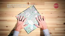 How to Fold a Pocket Square: The Two Point Fold