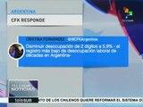 Argentina: expresidenta rechaza críticas a gestión de Néstor Kirchner
