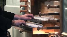 20160805 anduze concert temple grand orgue et orgue hammond extrait liebster jesu choral bach