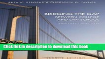 [Download] Bridging the Gap Between College and Law School: Strategies for Success Hardcover Online