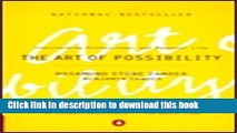 [Popular] The Art of Possibility: Transforming Professional and Personal Life Hardcover Free