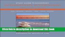 [Popular] Study Guide to accompany Intermediate Accounting Kindle Free