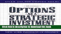 [Download] Options as a Strategic Investment Hardcover Collection