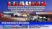 [PDF] Trauma: Resuscitation, Perioperative Management, and Critical Care Ebook Online