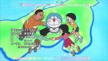Doraemon Tập 451 [Vietsub]: Đến đảo phương Nam bằng Tivi thế thân & Nổi gió lên! Quạt ba tiêu
