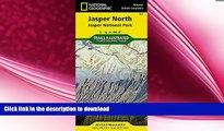 FAVORITE BOOK  Jasper North [Jasper National Park] (National Geographic Trails Illustrated Map)