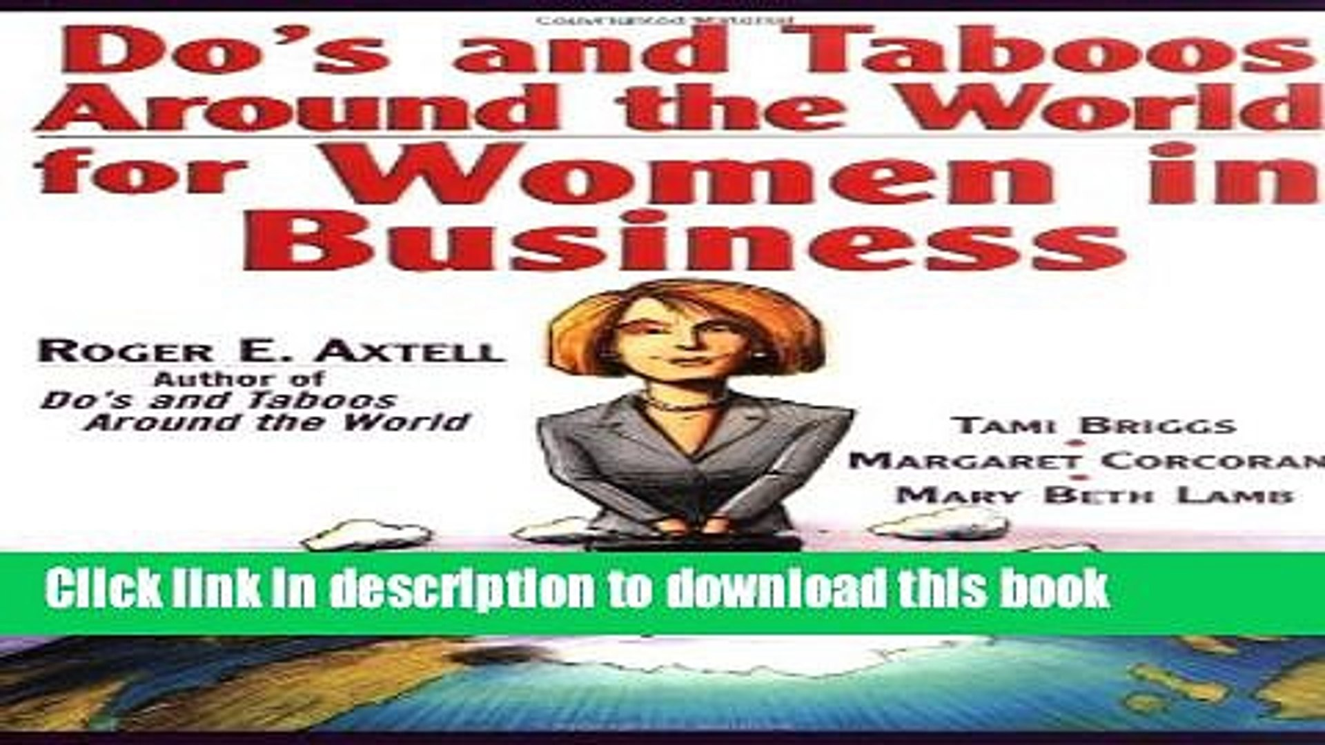 [Popular] Do s and Taboos Around the World for Women in Business Hardcover Collection