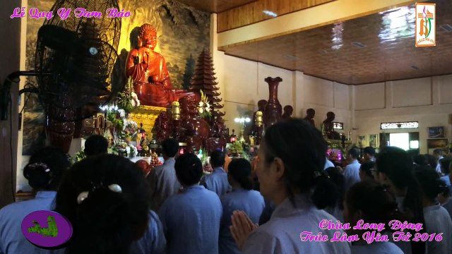 Le quy y Tam Bao.chua Lan Yen Tu .Vu Lan 2016