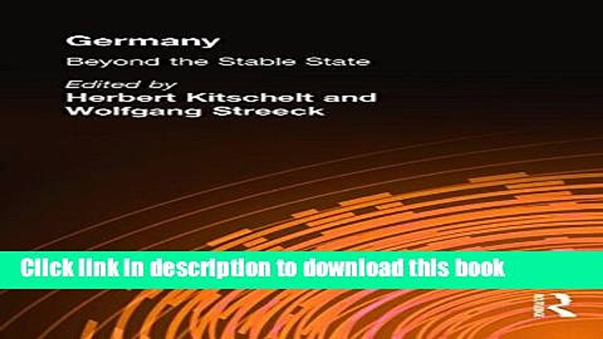 Germany: Beyond the Stable State