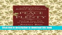 [Download] Peace and Plenty: Finding Your Path to Financial Serenity Paperback Free