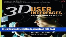 [Download] 3D User Interfaces: Theory and Practice (paperback) Hardcover Collection