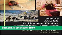 Ebook Public Health and Human Rights: Evidence-Based Approaches (Director s Circle Book) Free Online