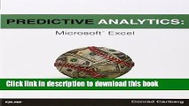[Popular] Predictive Analytics: Microsoft Excel Kindle Collection