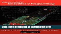 Embedded C language Programming in PIC CCS C Compiler