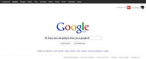 Google Funny Search Tilt - I am Feeling Lucky - Google Search Tricks(1)