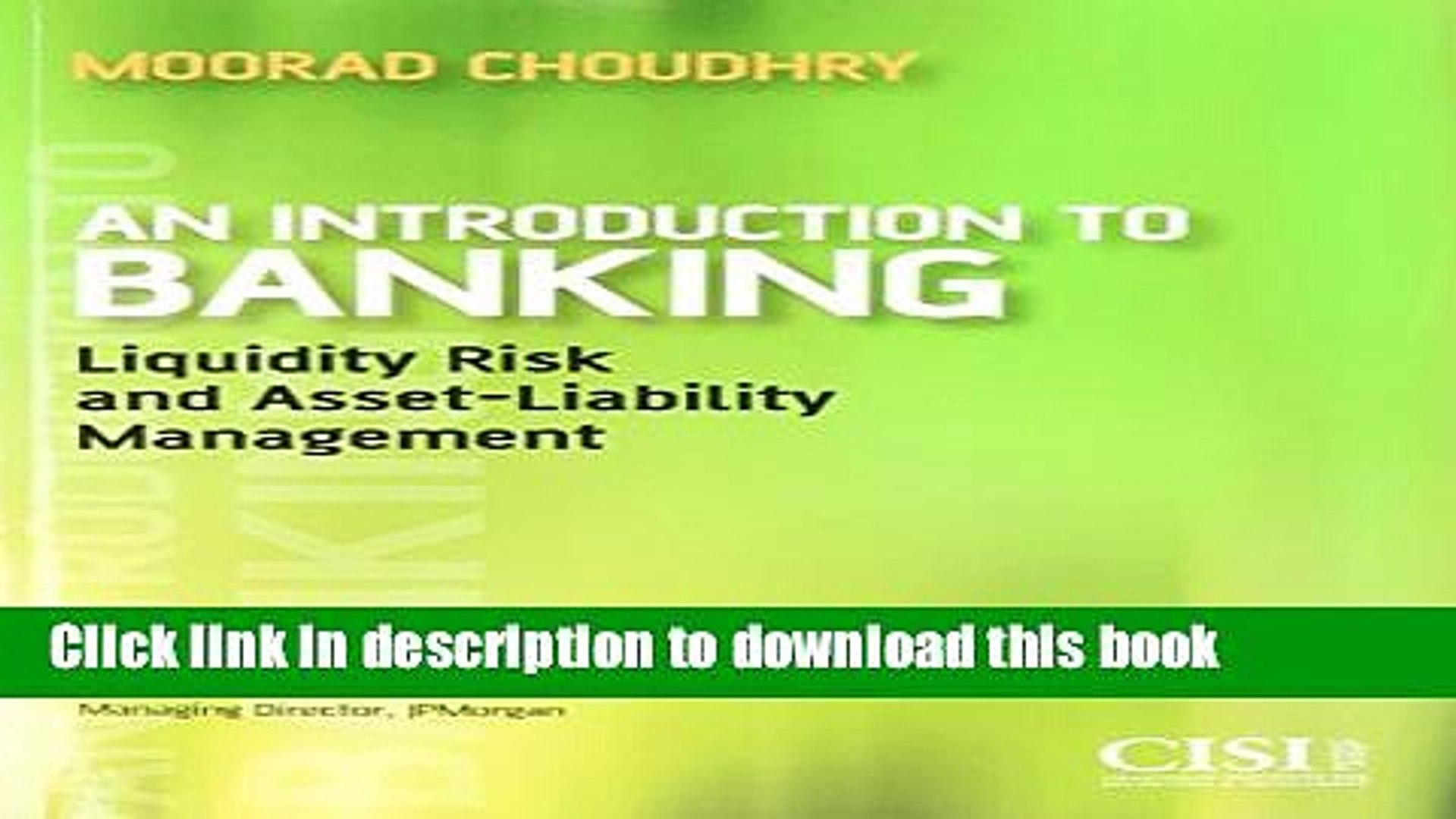 [Popular] An Introduction to Banking: Liquidity Risk and Asset-Liability Management Hardcover Online