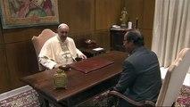 François Hollande au Vatican pour témoigner sa gratitude au pape