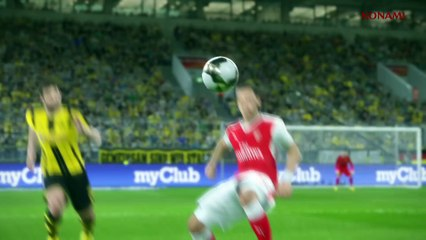 Pro Evolution Soccer 2017 : Trailer Gamescom 2016