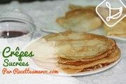 Crêpes Sucrées - Sweet Crepes - كريب حلو