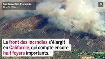 Californie : les feux de forêt peinent à être maîtrisés