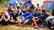 Santec (29). Les jolies colonies de vacances au camping du Dossen