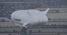 Premier vol d'Airlander 10, le plus gros aéronef du monde