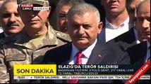 Başbakan Binali Yıldırım Elazığ'da basın açıklaması yaptı