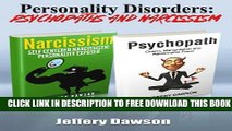 Collection Book Personality Disorders: Psychopaths   Narcissism